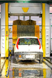 Modern carwash Stock Photo