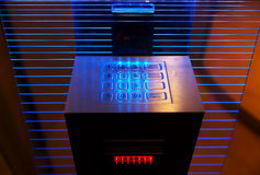 Modern cash dispense Stock Photo