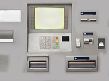 Modern cash machine Stock Photos