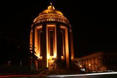 The modern Catholic Church at night. Syracuse Royalty Free Stock Photos
