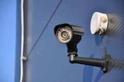Modern CCTV camera. stock image