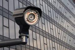 Modern cctv-kamera royaltyfri fotografi