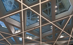 Modern Ceiling Stock Photography