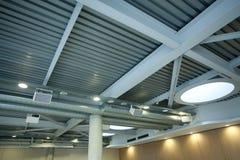 Modern ceiling Stock Image