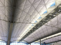 Modern ceiling airport Royalty Free Stock Images