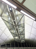 Modern ceiling airport Royalty Free Stock Photo