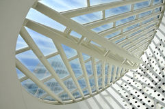 Modern Ceiling Architecture Stock Photos