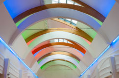 Modern ceiling architecture Royalty Free Stock Photos