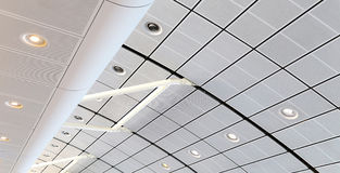Modern ceiling architecture Stock Photography