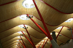 Modern ceiling construction Royalty Free Stock Photography