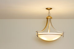 Modern ceiling lamp Royalty Free Stock Photography