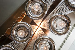Modern ceiling lighting Royalty Free Stock Photos