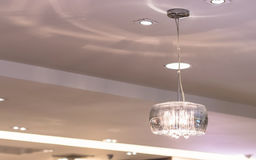 Modern ceiling lights Royalty Free Stock Photography