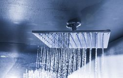 Free Modern Ceiling Shower In Monochrome Stock Photo - 109010410