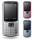 Modern cell phone Royalty Free Stock Photos