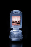 Modern cell phone Royalty Free Stock Image