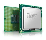 Modern CPU Royalty Free Stock Photography