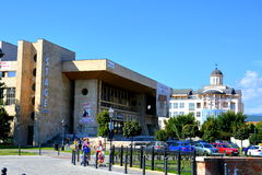 Modern centre of the town Alba Iulia Royalty Free Stock Images