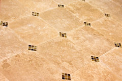 Modern ceramic tile floor Royalty Free Stock Photo