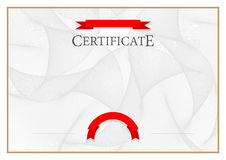 Modern Certificate and diplomas template. Vector vector illustration