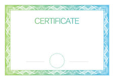 Modern Certificate and diplomas template. Vector stock illustration