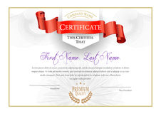 Modern Certificate and diplomas template. Vector royalty free illustration