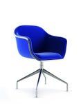 Modern chair 3d rendering stock illustration