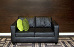 Modern chair in leather Royalty Free Stock Photo