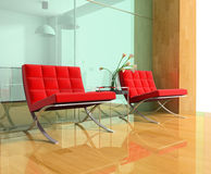 Modern chairs Royalty Free Stock Photography
