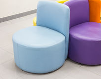 Modern chairs Royalty Free Stock Photos