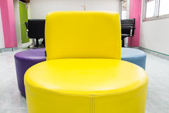 Modern chairs Stock Image