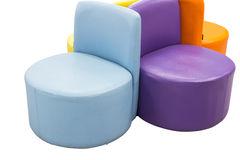 Modern chairs Royalty Free Stock Images
