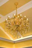 Modern chandelier royalty free stock image