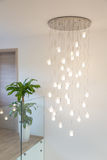 Modern chandelier Royalty Free Stock Photography