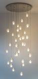 Modern chandelier Stock Photos