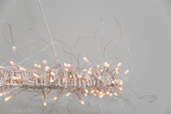 Modern Chandelier Lamp Led. Modern Chandelier with small lamps leds Royalty Free Stock Image