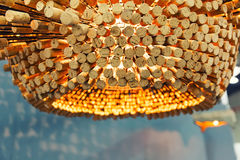 Modern chandelier Royalty Free Stock Photo