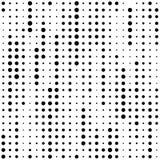 Modern Chaotisch Dots Design Minimaal Pixelbehang vector illustratie