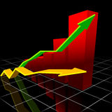 Modern Chart royalty free stock images