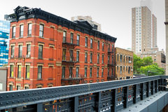 Modern Chelsea buildings, New York Royalty Free Stock Image