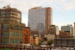 Modern Chelsea buildings, New York Royalty Free Stock Photos