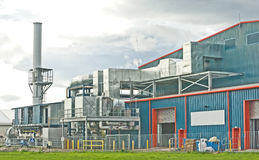 Modern Chemical Factory. royalty free stock photo