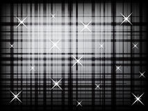 Modern chequered lines with dots abstract background Royalty Free Stock Image