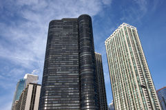 Modern Chicago Buildings Stock Photography