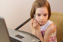 Modern child Stock Image