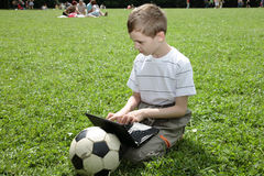 Modern child. royalty free stock images