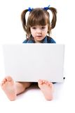 Modern child Royalty Free Stock Photography