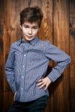 Modern child model Stock Image