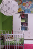 Modern child room interior design. Royalty Free Stock Photo