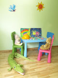 Modern child's room Stock Photos